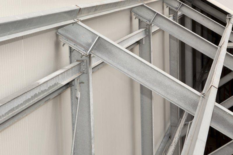 Strutture in acciaio per tetti