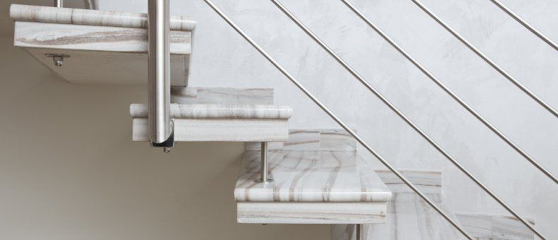 Ringhiera in acciaio per scala interna ringhiere in acciaio ferro alluminio gurrieri - Costo scala interna ...